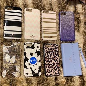 Kate Spade iPhone 8 Plus/7 Plus Case Bundle